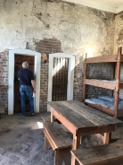 Sleeping quarters at the fort