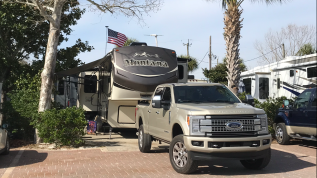 Campsite at Camp Gulf
