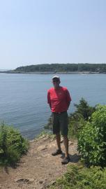 Greg at York Harbor