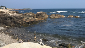 More of the Cairn rock formations at Kennebunkport