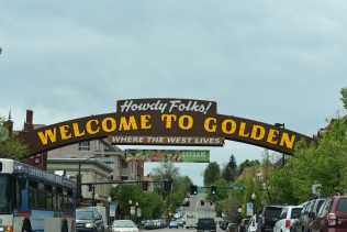 Nearby town of Golden