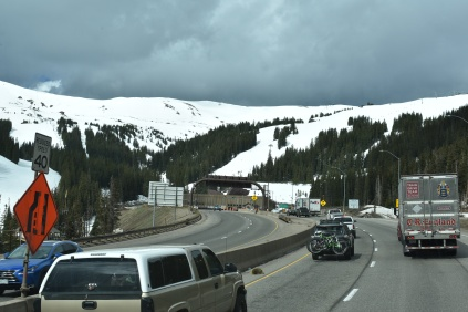 Approaching the Eisenhower Tunnel