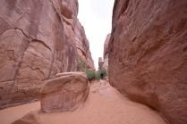 Going to the Sand Dune Arch